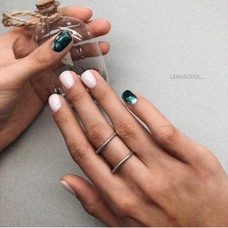 Дизайн ногтей на короткие ногти