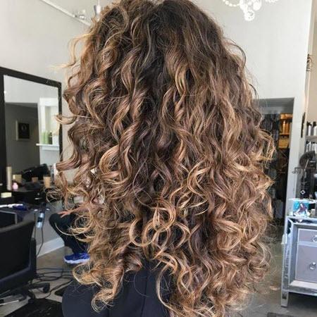Стрижки на кудрявые волосы