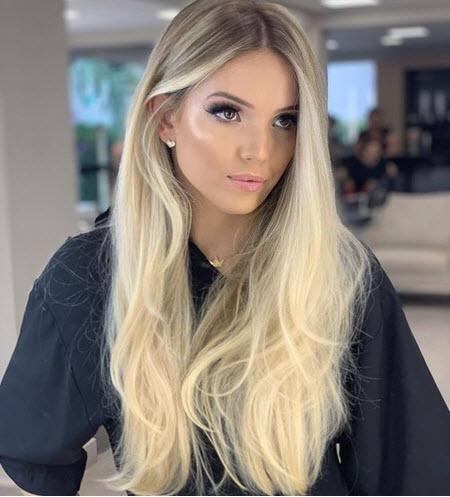 Модное окрашивание волос на длинные волосы 2020-2021