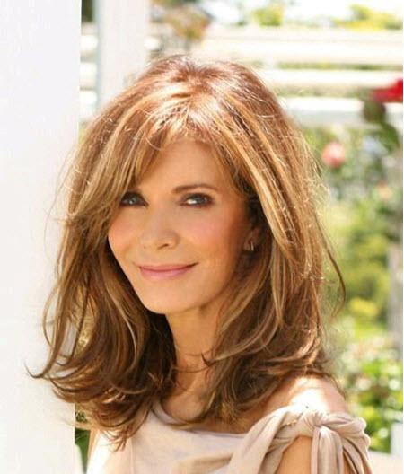 Стрижки на средние волосы для женщин за 40 и 50 лет