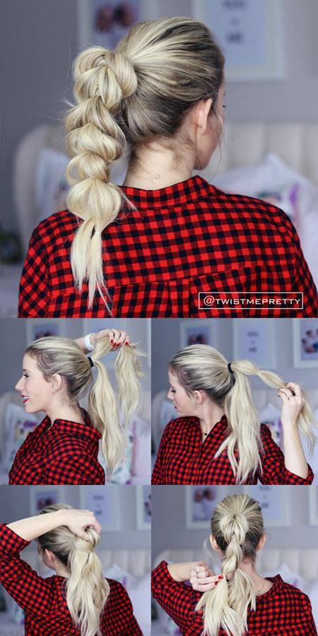 Прически на длинные волосы своими руками пошагово