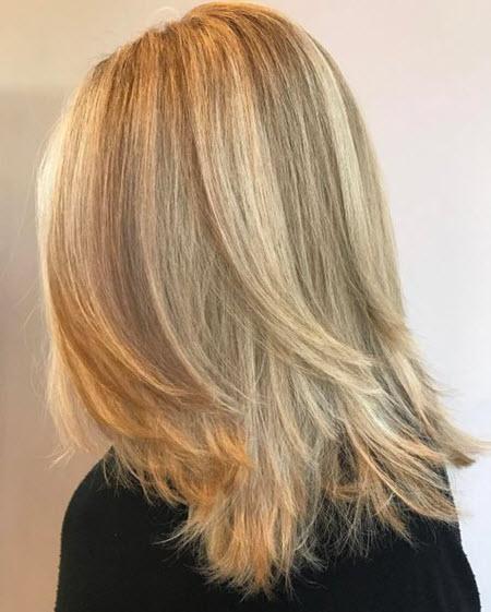 Стрижка каскад на средние волосы: тренды 2020-2021