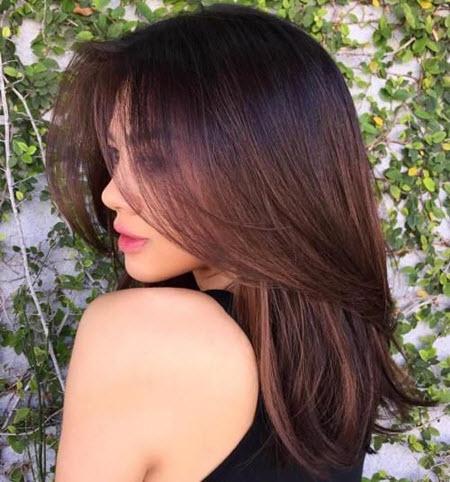 Стрижка каскад для природного объема волос