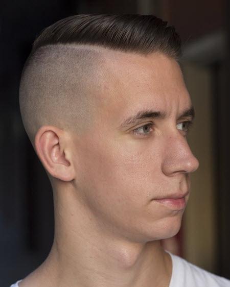 Фото мужской стрижки андеркат