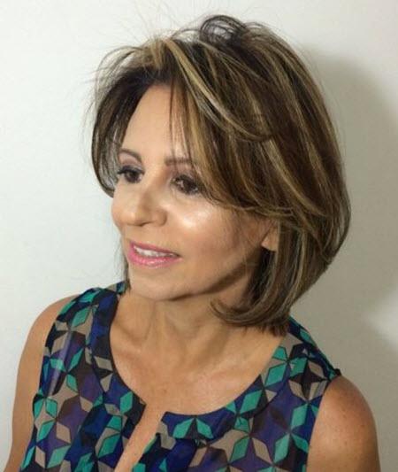 Фото новинки стрижки для женщин за 50