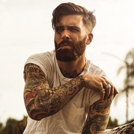 Мужская стрижка андеркат для мужчин в возрасте