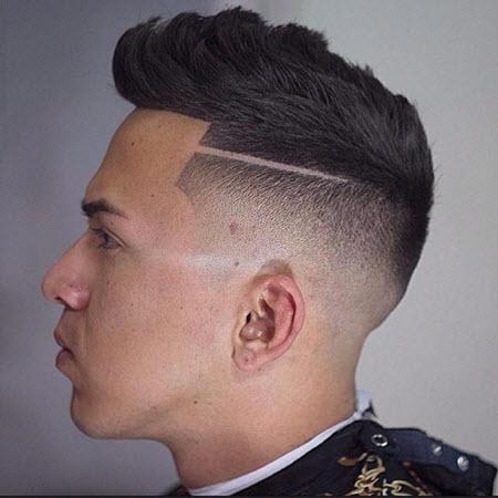 Стрижка андеркат 2021 на среднюю длину волос