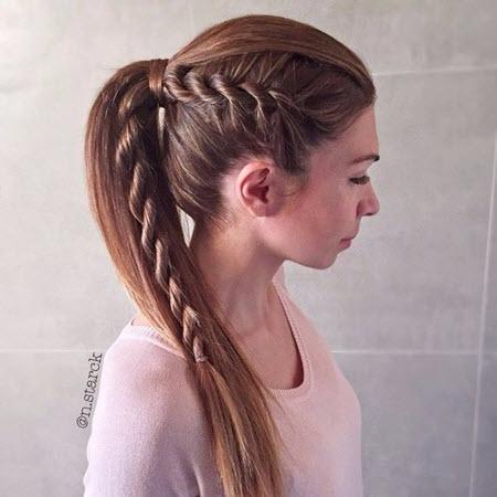 Прически для старшеклассниц и выпускников на длинные волосы