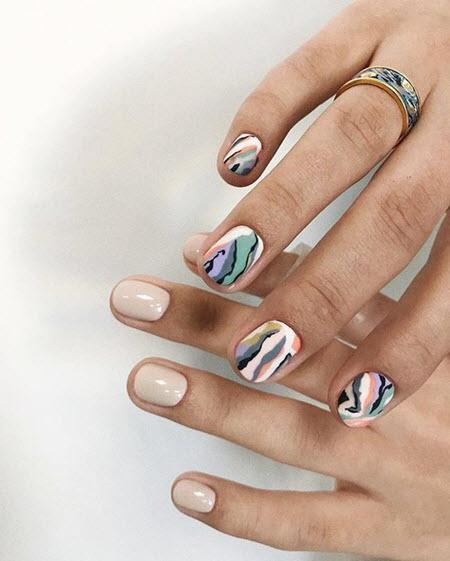 Модный дизайн ногтей 2021: более 200 фото новых тенденций и техник красивого маникюра  