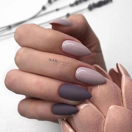 Модный дизайн ногтей на длинные ногти
