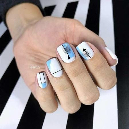 Красивый дизайн ногте