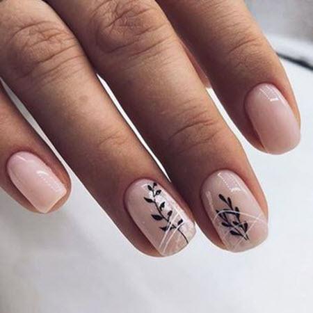 Красивый весенний дизайн ногтей 2021 на короткие и длинные ногти