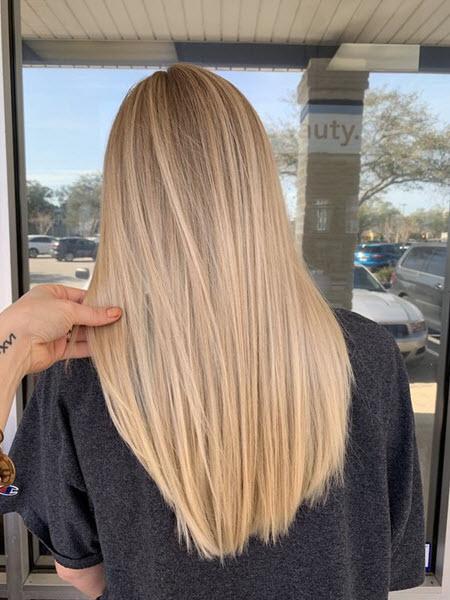 Сложная техника окрашивания волос