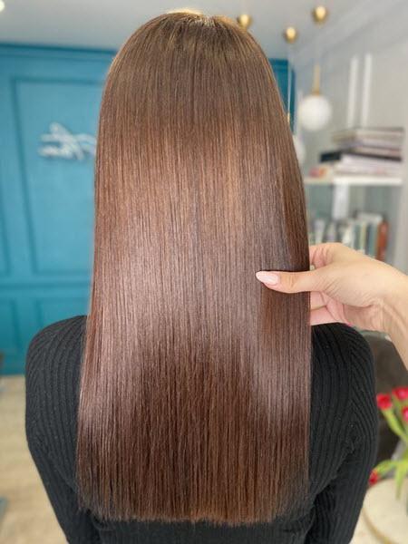 Фото окрашивания волос