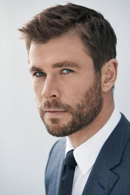 Мужская стрижка канадка на короткие волосы