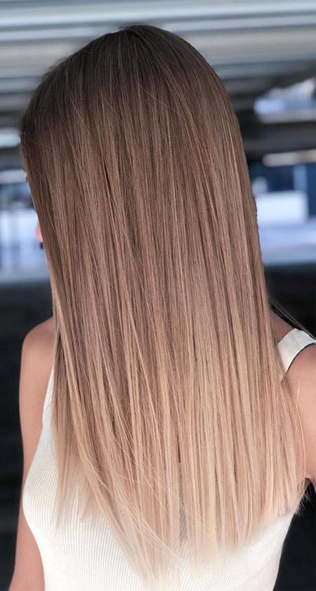 Сложные техники окрашивания волос