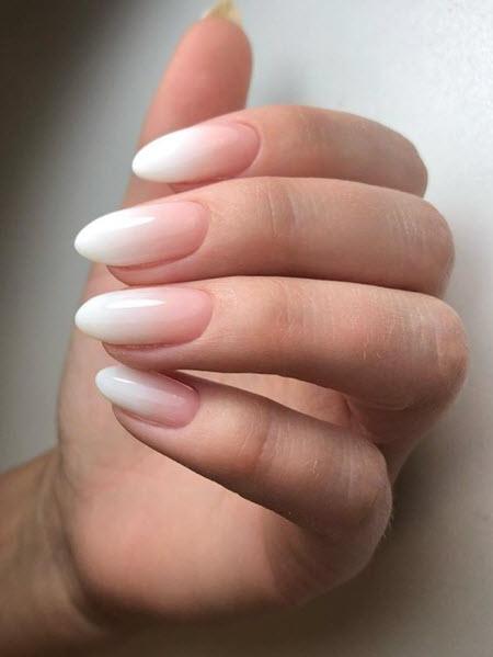 Дизайн ногтей омбре