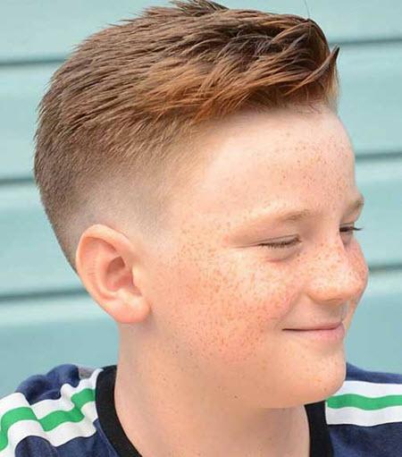 Фото модный стрижек для мальчиков