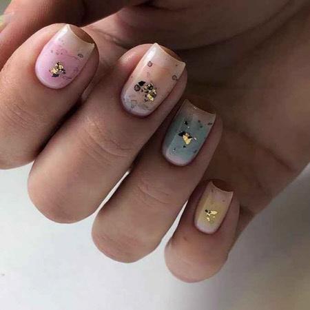 Маникюр на короткие и длинные ногти