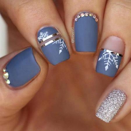 Дизайн ногтей негативное пространство