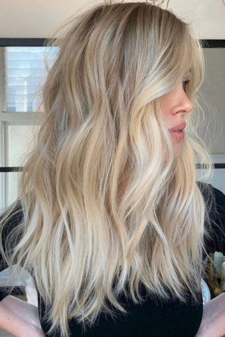 Техника окрашивания волос Airtouch