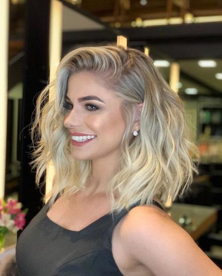 Фото модных оттенков волос