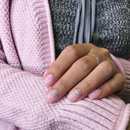 Красивый маникюр на короткие ногти